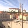 Slovenya Piran Tartini Meydanı Canlı İzle